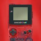 «Mini videojuegos RED oscuros transparentes clásicos» de Galih Sanjaya Kusuma wiwaha
