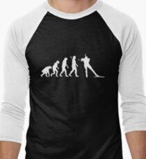 Biathlon Men's Baseball ¾ T-Shirt