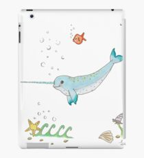 Narwhal, narwhale, ocean fish iPad Case/Skin