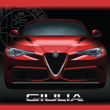 Alfa Romeo Giulia Quadrifoglio  by fmd159