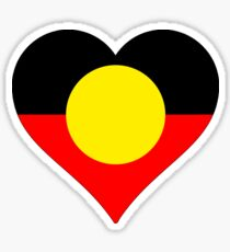I Love the Aboriginal Nation Sticker