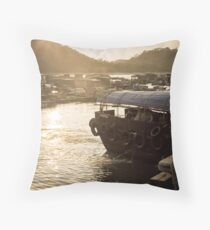 Lamma Island Throw Pillow