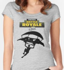 Battle Royale Fortnite Women's Fitted Scoop T-Shirt