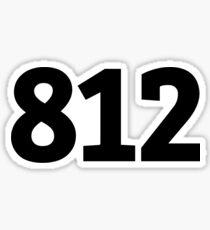 812 Sticker