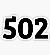 502 Sticker