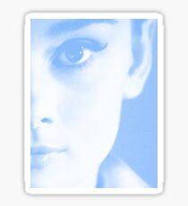 Audrey Close-Up Sticker