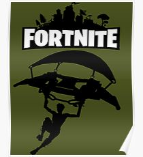 Battle Royale Fortnite Poster