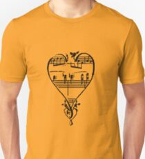 Song of Love Slim Fit T-Shirt