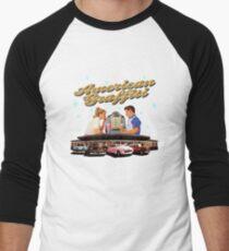 American Graffiti Men's Baseball ¾ T-Shirt