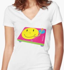 Sounds like the 80's to me! Women's Fitted V-Neck T-Shirt