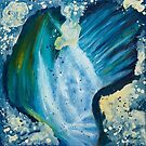 Dream of the Deep Sea | Abstract Painting by Maria Meester