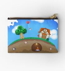 Animal Crossing Panorama  Studio Pouch