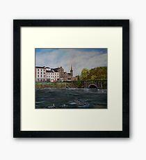 """""""Kilrush - Cill Rois"""" - Oil Painting Framed Print"""