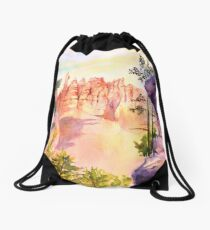 Bryce Canyon #4 Drawstring Bag