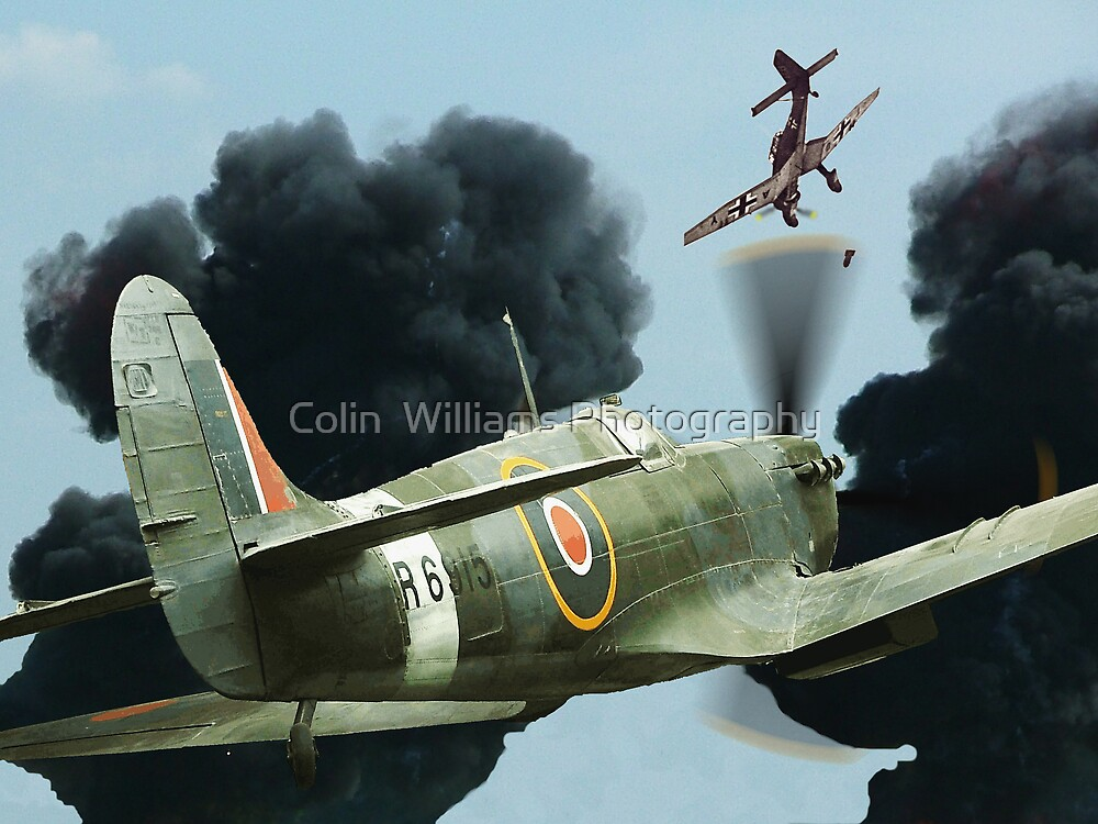 Stuka Attack ! by Colin  Williams Photography