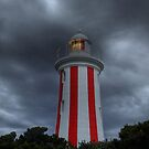 Devonport Bluff Lighthouse by Martin Hampson