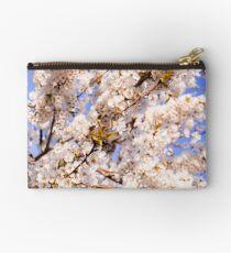 Cherry blossoms in blue Studio Pouch