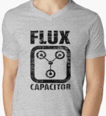 Flux Capacitor Men's V-Neck T-Shirt