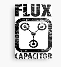 Flux Capacitor Metal Print