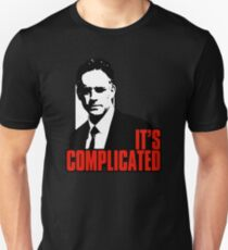 It's Complicated. Jordan Peterson Quote Unisex T-Shirt