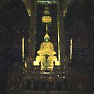Emerald Buddha - Bangkok Palace by Bev Pascoe