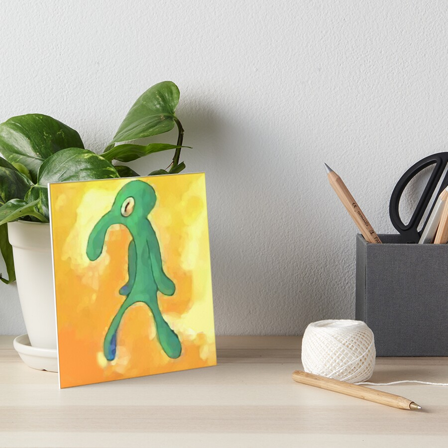 Old Bold and Brash Art Board Print