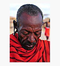 Samburu Chief Photographic Print