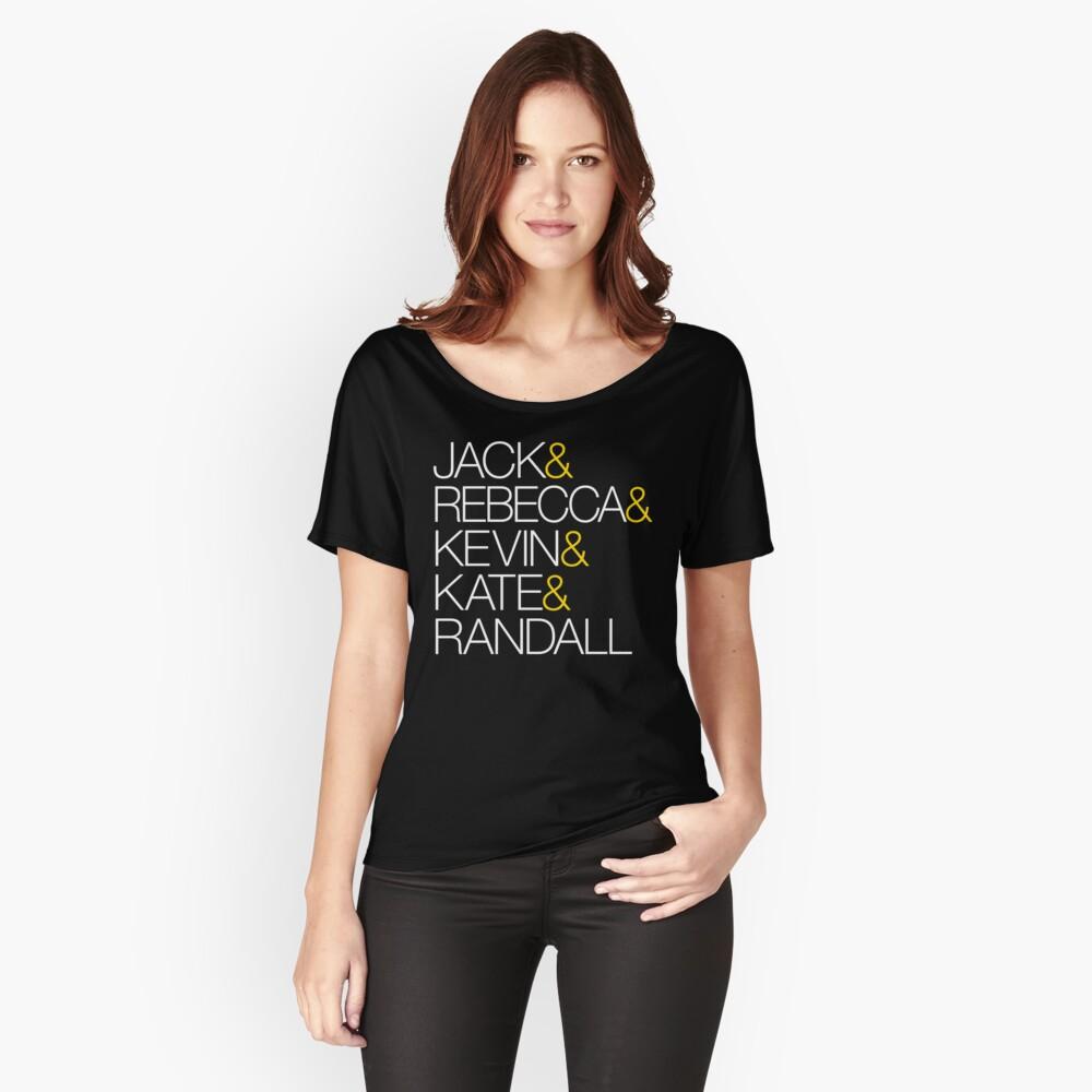 Das ist uns TV-Show Namen Loose Fit T-Shirt