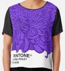 PANTONE Ultra Violet 2018 Chiffontop