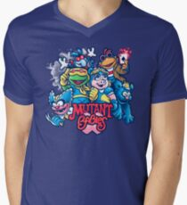 Mutant Babies Men's V-Neck T-Shirt