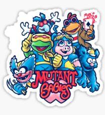 Mutant Babies Sticker