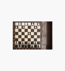 Chess board Art Board