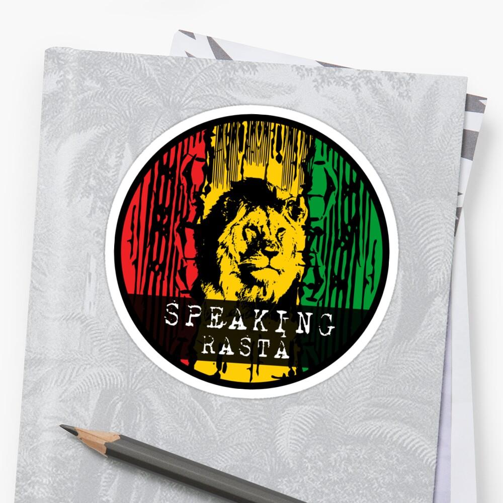 Parlant reggae rasta par periartwork