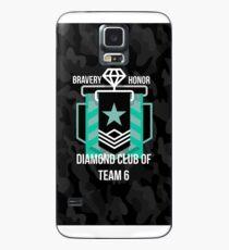 Diamond Club - Black Camo Case/Skin for Samsung Galaxy