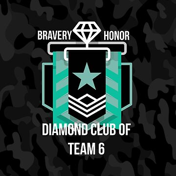 Diamond Club - Black Camo by ShirtDude
