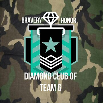 Diamond Club Classic Camo by ShirtDude