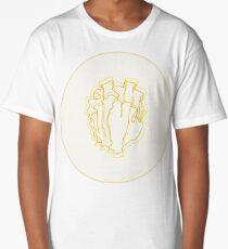 Yellow Blade Coral Long T-Shirt