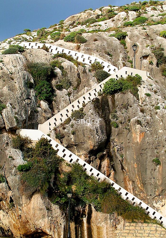 Zigzag Steps by Xandru