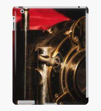 Scarlet a vintage Kodak Folding Camera retro art iPad Case/Skin