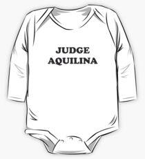 JUDGE AQUILINA #METOO One Piece - Long Sleeve