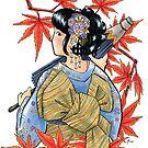 Japanese Maple by Waywardstudios