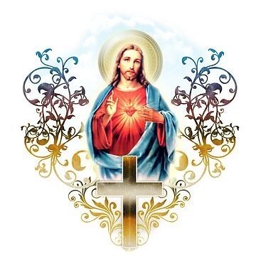 Sacred Heart of Jesus by HappyCatholics