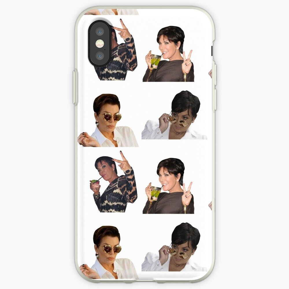 Kris Jenner Stickers Pack iPhone-Hüllen & Cover