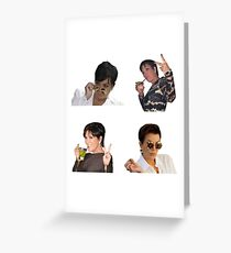 Kris jenner Stickers Pack Greeting Card