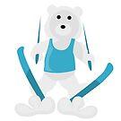 Ski Bear by pda1986