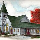 Sanctuary Collection, Briantrim Baptist Church, Laceyville, Pennsylvania by TheRBStudio