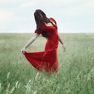 red lady by Joana Kruse