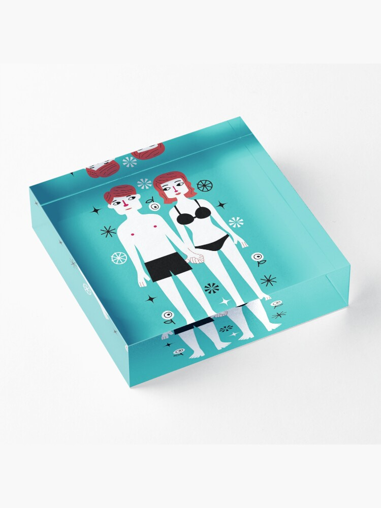 Alternate view of Beside You Acrylic Block