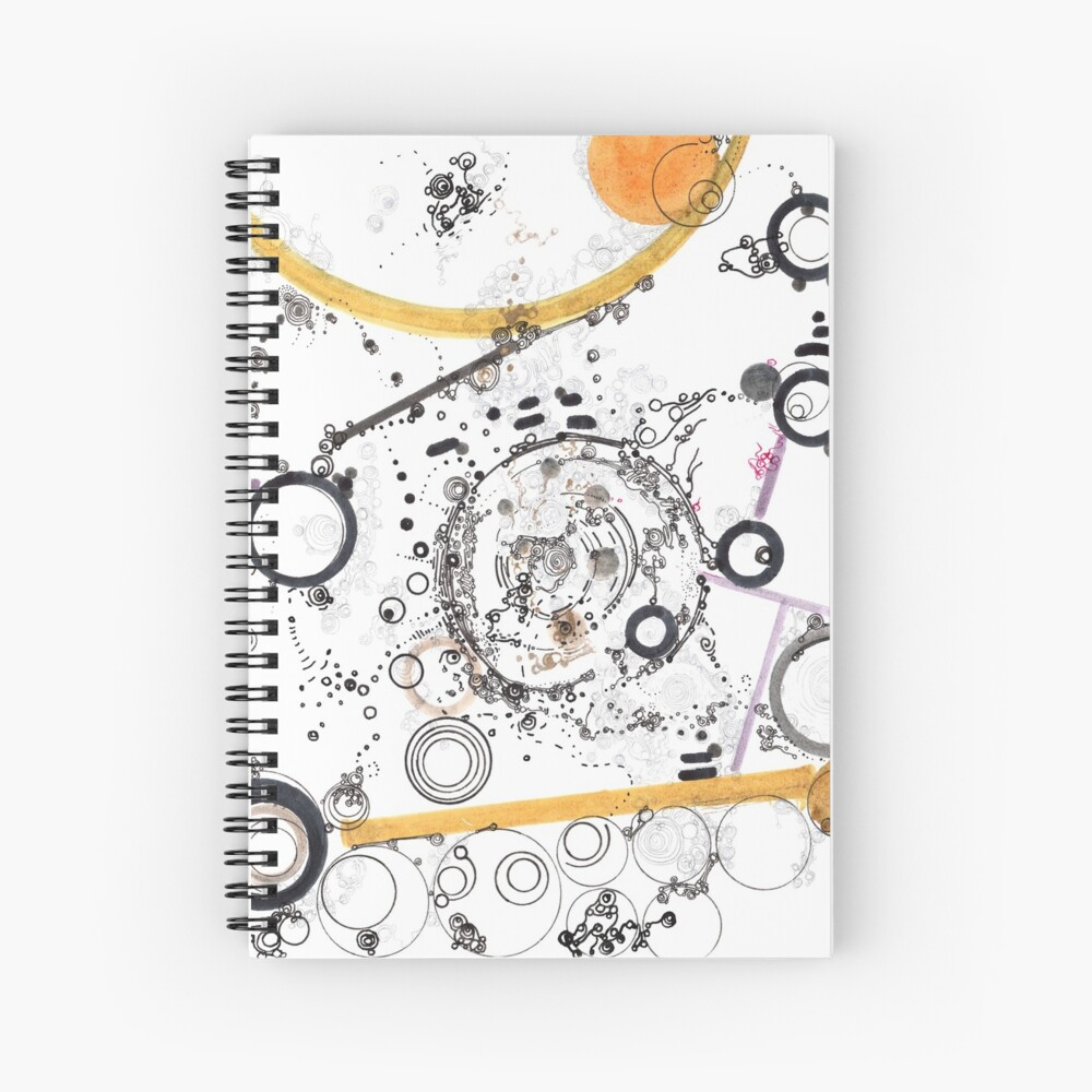 Cogs and Levers Spiral Notebook