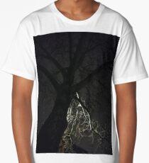Night, tree, Night, tree,  Long T-Shirt